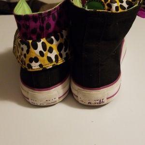 Converse Shoes - Converse Two Fold Hi Top 540279F Leopard size 8 US
